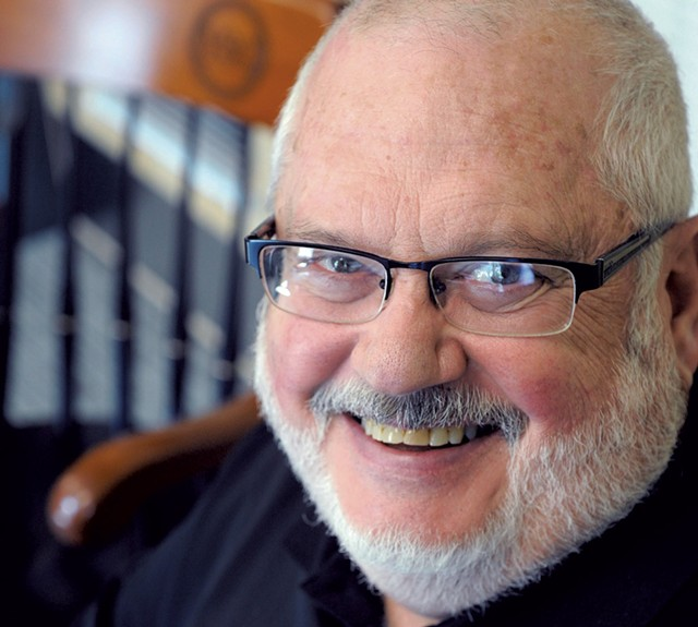 VSC chancellor Tim Donovan - JEB WALLACE-BRODEUR