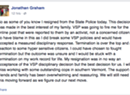 Trooper Who Resigned Under Pressure Posts Online Explanation