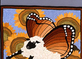 Sheepish About Hooked Rugs? Not After This Exhibit