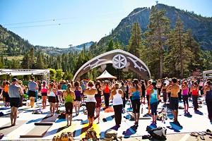 Wanderlust Festival at Squaw Valley in Lake Tahoe, Calif.