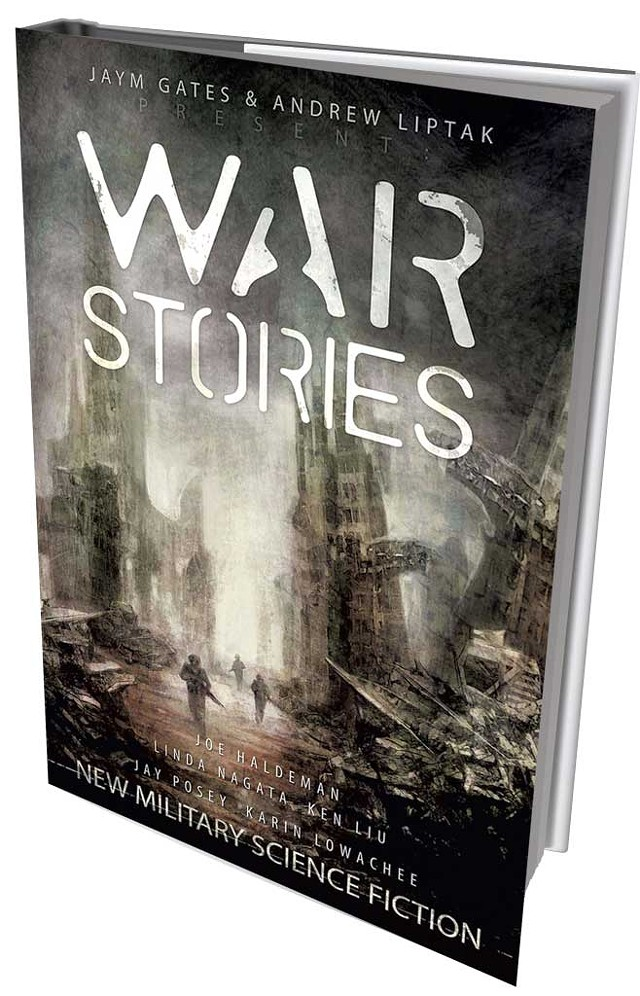 War Stories: New Military Science Fiction, edited by Andrew Liptak and Jaym Gates, Apex Publications, 360 pages. $16.95.