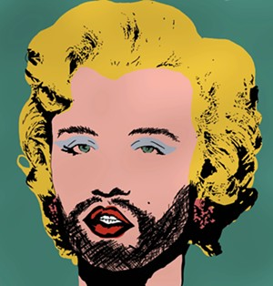 "COURTESY OF JOSH TURK - ""Warhol Marilyn 2"" by Josh Turk"