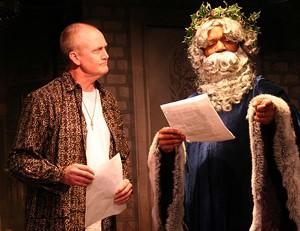 Wayne Tetrick (Scrooge) and Edgar I. Davis