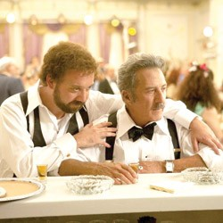 WEDDING DAZE Father and son tie one on as Giamatti's character ties the knot in this adaptation of Richler's final novel.