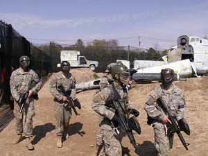West Point cadets in a 2008 training exercize