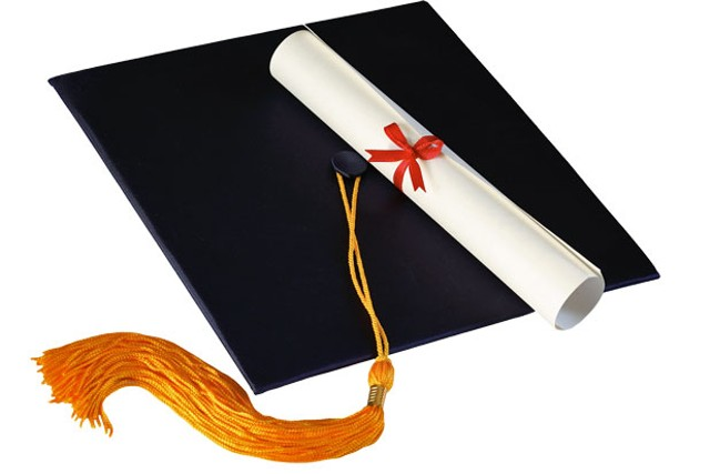 An image of a cap and degree