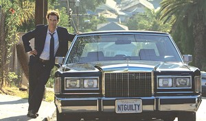 WHEELS OF JUSTICE McConaughey gets his career back in gear playing a slick L.A. defense attorney who operates out of his Lincoln.