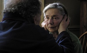 WHEN THE MUSIC'S OVER Haneke's latest follows a pair of retired piano teachers as they face their final days together.