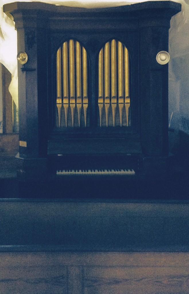 William Nutting''s organ - COURTESY OF JAMES P. CASSARINO