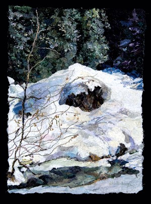 """Winter Thaw"" by Dianne Shullenberger"