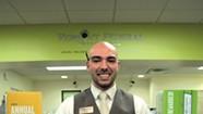 Work: Bank Teller Nick Darrow