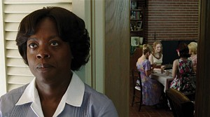 WORLDS APART Davis plays a maid who can raise socialites' children but not use their toilets in Taylor's adaptation.