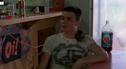 """Yep, that's Flea of the Red Hot Chili Peppers, credited in this film as """"Mike B. The Flea"""""""