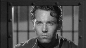You Only Live Once: Eddie Taylor (Henry Fonda) is not very pleased about being wrongly incarcerated. Fonda played another unjustly accused man 19 years later in Alfred Hitchcock's The Wrong Man, one of his best performances.