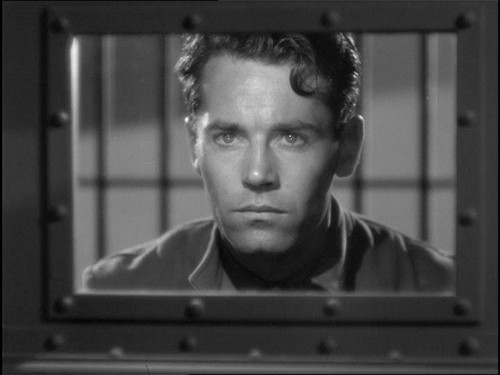 You Only Live Once: Eddie Taylor (Henry Fonda) is not very pleased about being wrongly incarcerated. Fonda played another unjustly accused man 19 years later in Alfred Hitchcock's The Wrong Man, one of his best performances. - UNITED ARTISTS / IMAGE ENTERTAINMENT / CASTLE HILL PRODUCTIONS