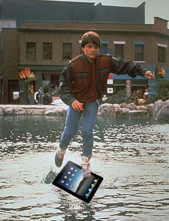 - YEAH, WE CAN'T BELIEVE THE DAMN THING CAME OUT BEFORE THE HOVERBOARD EITHER.