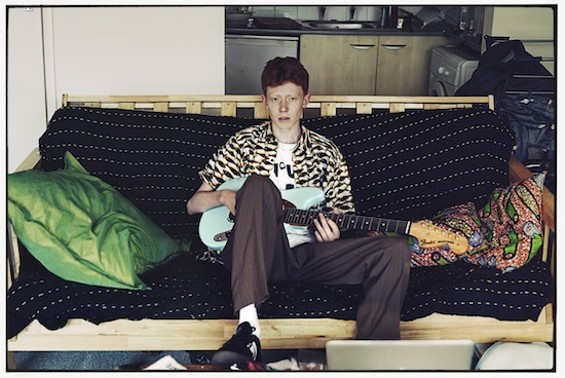 19-year-old King Krule is one of the artists you should see this week. - JAMIE JAMES MEDINA