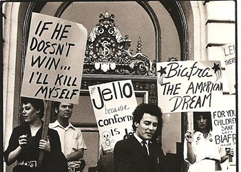 35 Years Ago Today, Jello Biafra Came In Fourth In the S.F. Mayoral Race