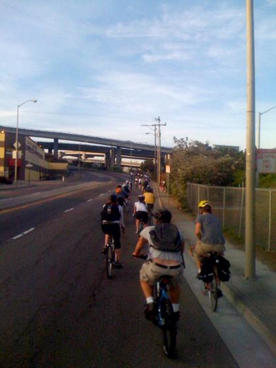 A big group ride? Um, yeah. A really big group ride in 2008. - BRETT LIDER / FLICKR