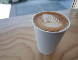 A Blue Bottle latte - NEILCONWAY