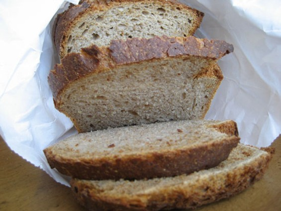 A bread that calls out for fish or smoked cheese. - JONATHAN KAUFFMAN