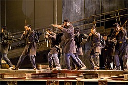 TERRENCE MCCARTHY - A Civil War battlefield scene set to the music of Philip Glass.