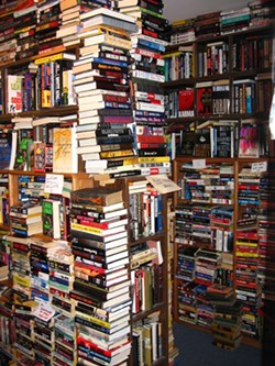 A countless number of books. Literally. - HTTP://WWW.THEDCTRAVELER.COM