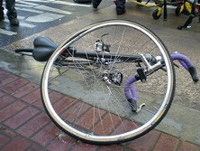 A crash that doesn't involve a car