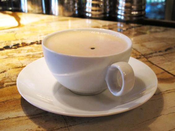 A cuppa boozy joe - LOU BUSTAMANTE