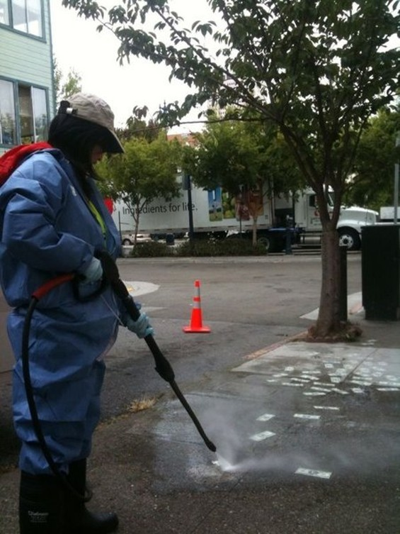 A DPW worker sends Mafia Wars stickers to sleep with the fishes - SFDPW