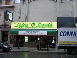 A great place to be if you are hungry, bad place to be if you just committed a crime - COURTESY OF LEFTY O'DOULS