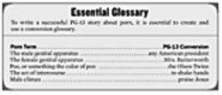 Click here for Essential Glossary.