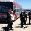 Muni Hybrid Bus Feted at Press Conference Immediately Conks Out