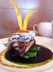 avrene just posted a pic of The House's black cod with rabbit ears.