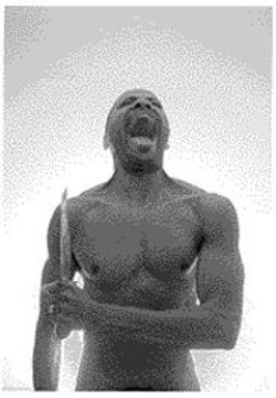 A Killer Performance: Paul Outlaw in - Berserker, which isn't for the - fainthearted.