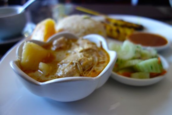 A lunch special at Manora's - FERRON SALNIKER