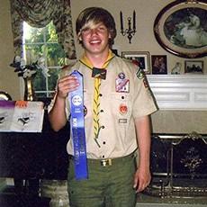 A model Boy Scout