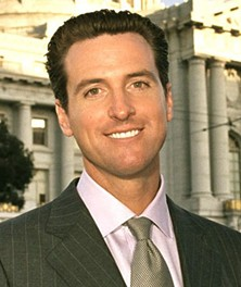 A nice weekend for San Francisco's erstwhile mayor