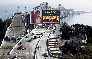 A novel concept for slowing Bay Bridge traffic...