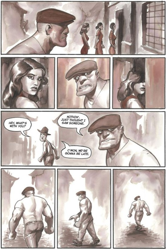 "A page from ""Chinatown"" - ERIC POWELL"