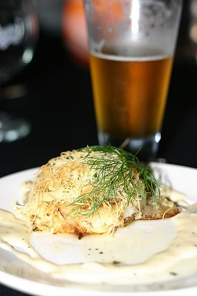 A pairing from a previous event at Hopmonk Tavern. - JESSE FRIEDMAN/BEER & NOSH
