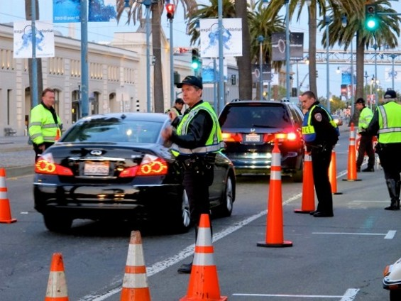 A party for police - COURTESY OF SFPD