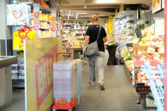 A peek inside an Austrian grocery store - CLEMENS FABRY