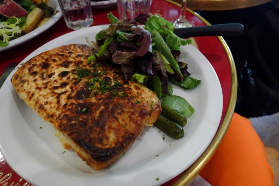 A perfect Croque Monsieur at The Butler and the Chef