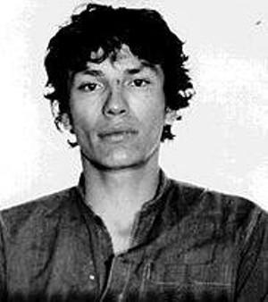 A police mugshot of Richard Ramirez