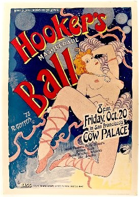 A poster from the 1978 Hookers Ball
