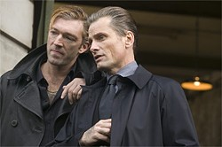 A Russian mobster and his chauffeur: Vincent Cassel and Viggo Mortensen.