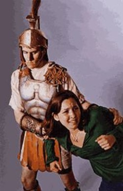 KEVIN  BERNE - A school trip  turns into  a nightmare in  Sarah Daniels' - gladiator  fantasy, Dust.