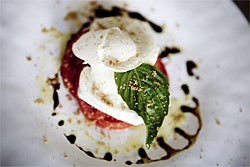 JEN SISKA - A simple and satisfying caprese salad.