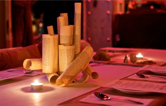 A table setting from a past EMHO event. - KATHLEEN MILLER